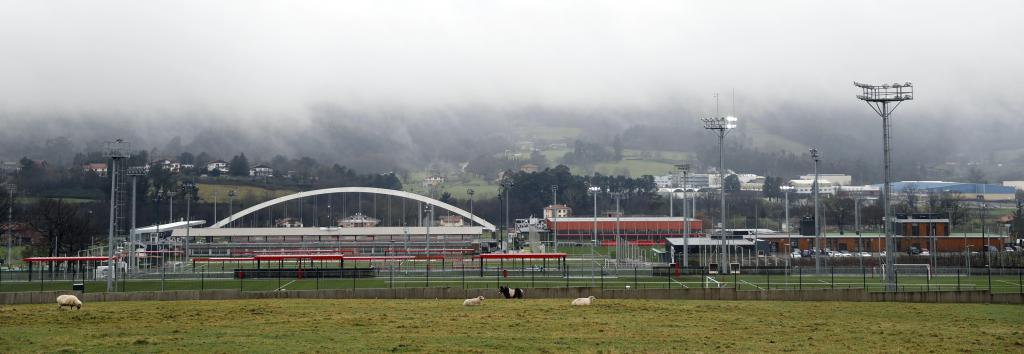 Vista panorámica de las instalaciones del Athletic en  Lezama