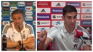 """Luis Enrique duda pero Ferran sí lo dijo y aquí, la prueba: """"Nuestros centrales se comerán a Lewandowski"""""""