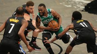¡La primera bomba en la NBA! Kemba Walker irá a los Thunder de Oklahoma