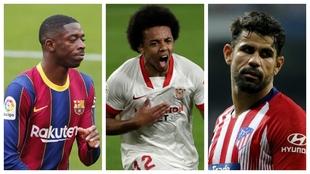 Dembélé, Koundé y Diego Costa, los nombres propios del mercado de...