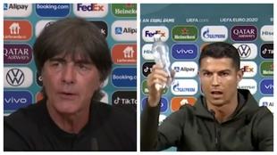 """Löw: """"Cristiano Ronaldo puede hacer más que apartar botellas"""""""