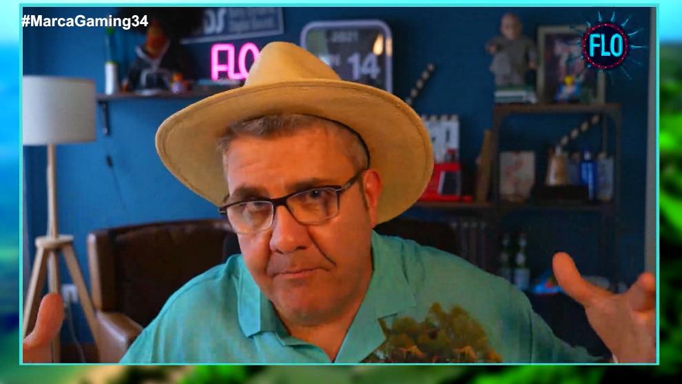 Flo Fernández, durante la entrevista