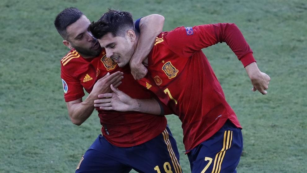"""Morata: """"No sé qué más decir, cualquier cosa que digo luego..."""""""