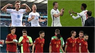 Schick, Kane y los jugadores españoles