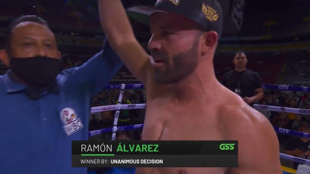 Ramón Álvarez le gana a Omar Chávez