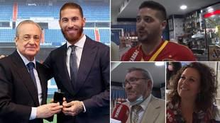 """Los vecinos de Ramos y su adiós al Real Madrid: """"Se ha equivocado, pero..."""""""