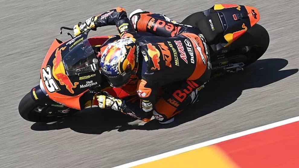 Moto2, en directo: caída de Raúl Fernández