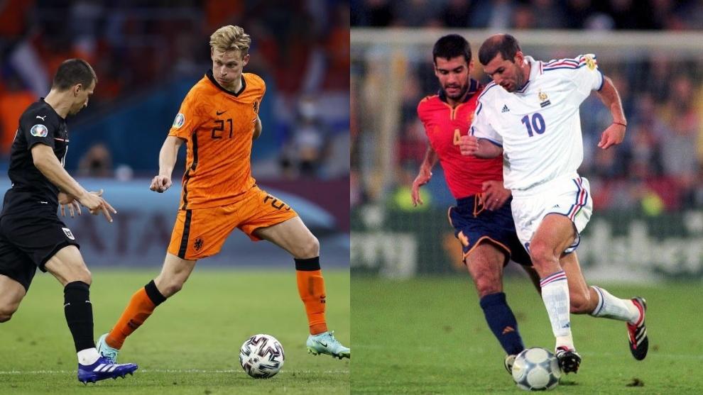 De Jong activa el 'modo regate' para perseguir un récord de Zidane