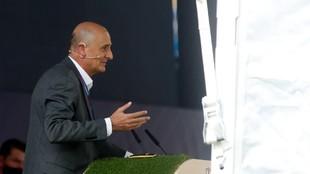 Jordi Moix, durante su comparecencia en la Asamblea de Compromisarios