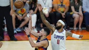 Clippers-Suns, en directo el primer partido de la Final del Oeste: último cuarto