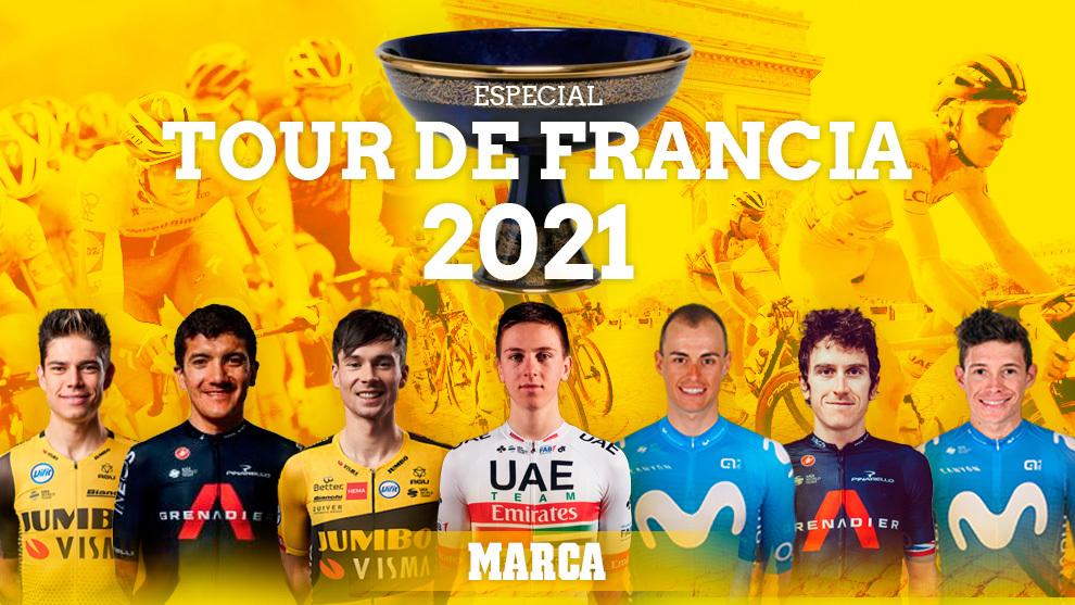 Especial Tour de Francia 2021: recorrido, favoritos, los españoles...