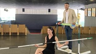 Ruth Beitia y Orlando Ortega