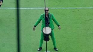 La espectacular haka de Matthew McConaughey que hizo vibrar a un estadio