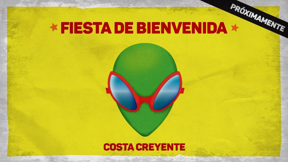 La bienvenida a los aliens será con buena musiquita