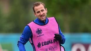 Harry Kane, con Inglaterra en la Eurocopa.