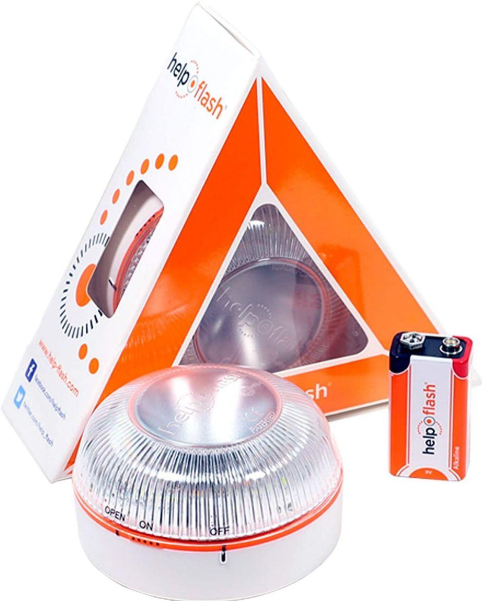 Luz V16 - señal V-16 - DGT - Amazon Prime Day - ofertas - triángulos