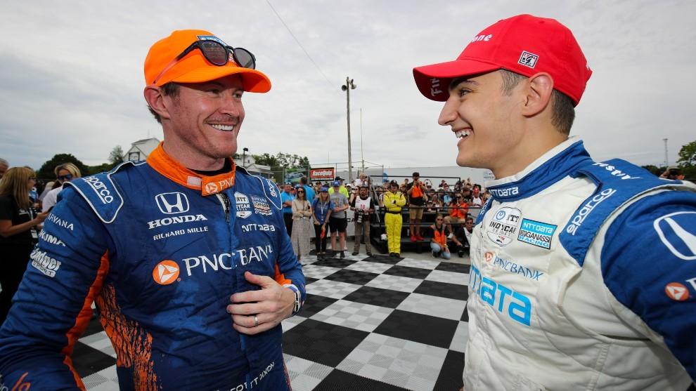 Alex Palou - Indycar - Road America - Ganassi - segunda victoria - líder