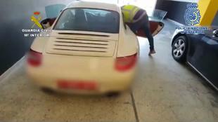 Porsche 911 robado