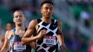 Brazier, en las series de 800 de los trials