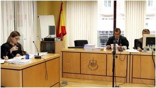 Imagen de archivo del juicio por los lunes y los viernes en el...