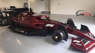 Así se debería ver un coche de F1 en 2022