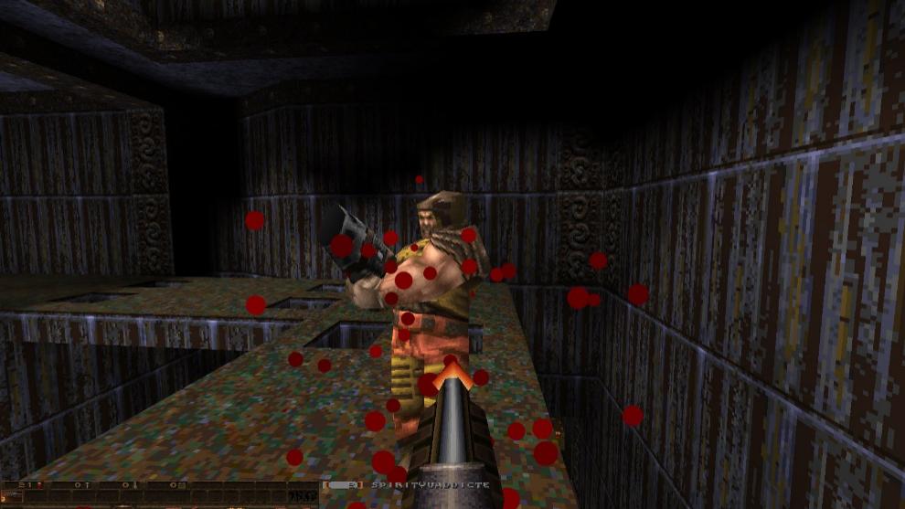 Quake en modo multijuador online