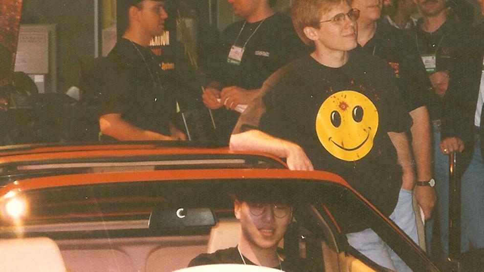 """Dennis """"Thresh"""" Fong tras ganar el primer torneo de Quake y llevarse un Ferrari"""