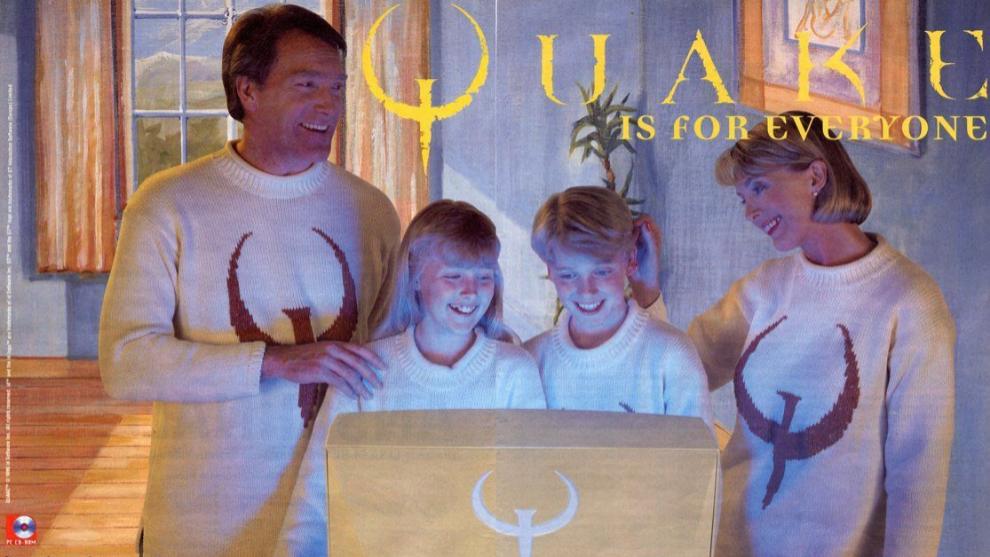 Publicidad de Quake (1996)