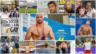 Los deportistas que viven sin tapujos su homosexualidad