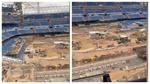 El vídeo de las obras del Bernabéu que genera dudas de que se pueda jugar en septiembre