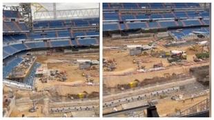El vídeo de las obras del Bernabéu que dispara dudas: ¿se podrá jugar en septiembre?