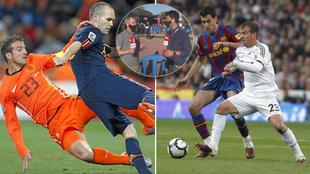 Los roces de Busquets vs Van der Vaart: ¿se refería también a los del Madrid-Barça?
