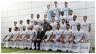 Foto oficial de la plantilla del Real Madrid de la pasada temporada.