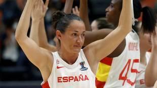Laia Palau, capitana de la selección española de baloncesto