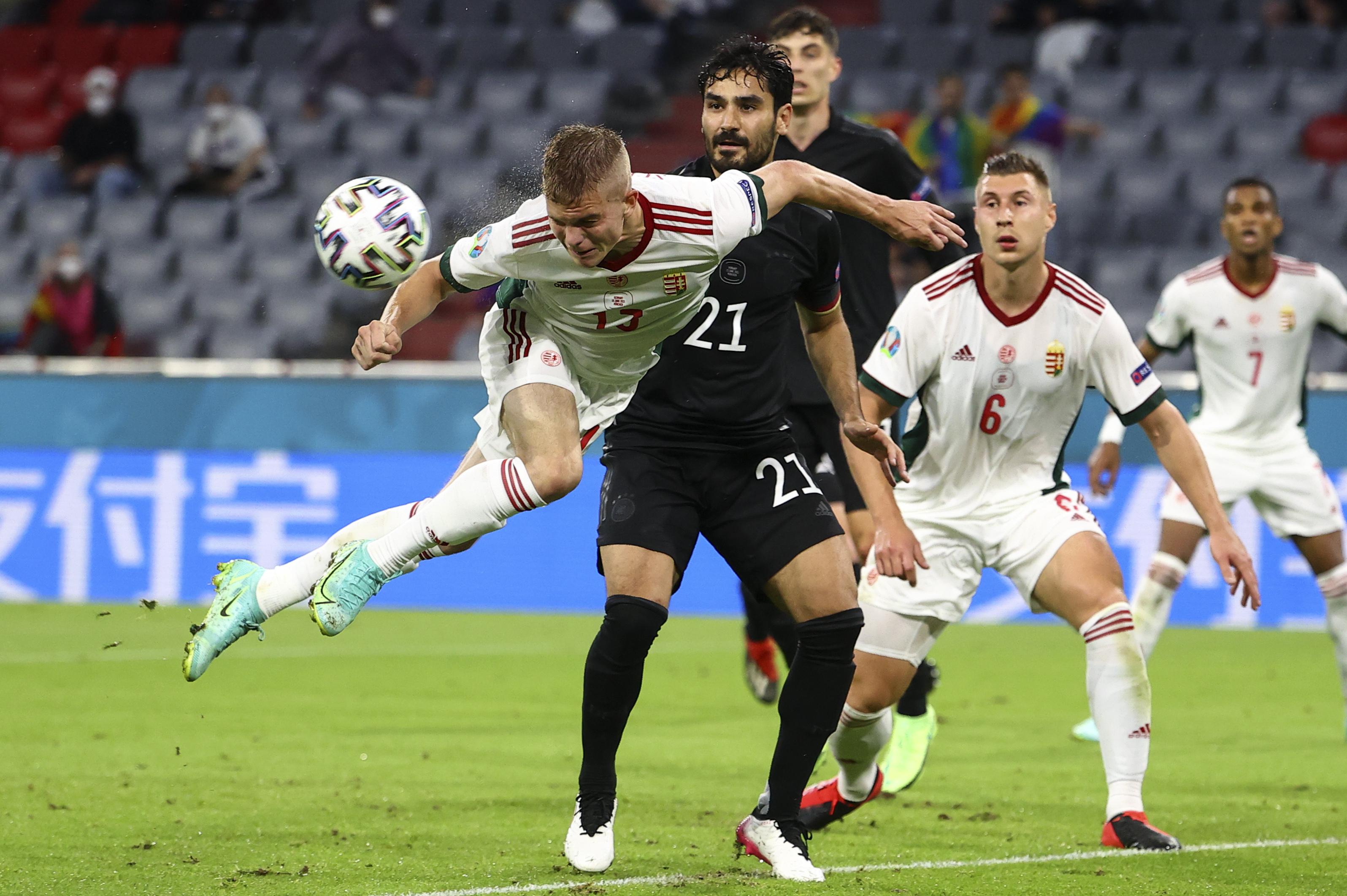 Quedan definidos los cruces de octavos de final en la Euro, Inglaterra y Alemania disputarán la llave más atractiva