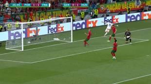 La genialidad de Benzema ante Portugal: asistencia brutal de Pogba... y de primeras a la jaula
