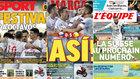 Las portadas tras el 0-5 de España