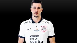 Una imagen de Danilo Avelar, con la equipación del Corinthians.