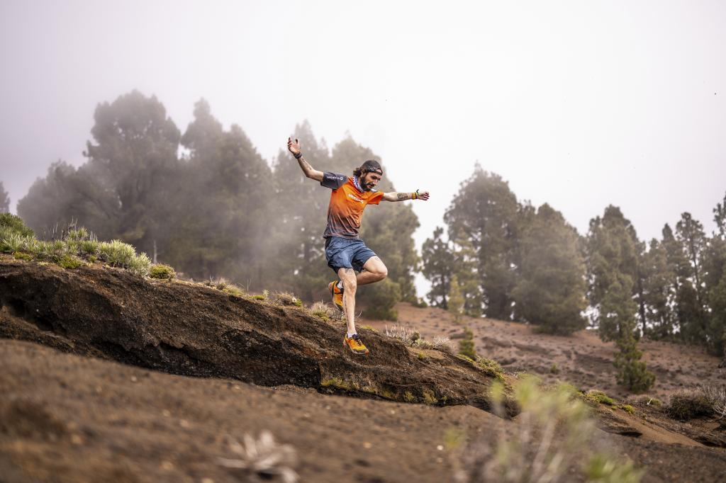 Juan Dual, en la montaña.