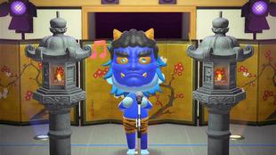 Mask Crossing Singer, el Mask Singer en Animal Crossing: New Horizons