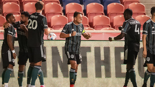 Chicharito Hernández se reencuentra con el gol ante Vancouver