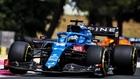 Fernando Alonso en el Gran Premio de Francia