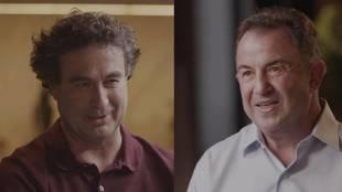 Pepe Rodríguez y Martín Berasategui: amigos fuera del campo, rivales dentro de él