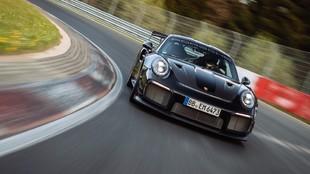 Porsche 911 GT2 RS - récord Nürburgring - 6:43.300 - kit Manthey -...