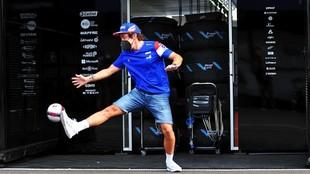 Fernando Alonso, hoy en el circuito Red Bull Ring.