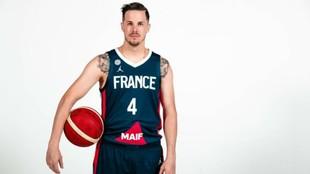 Thomas Heurtel, en una imagen con la selección de Francia.