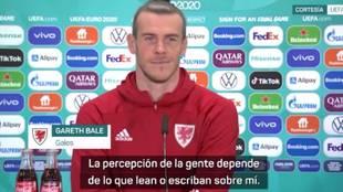 El mensaje más sincero de Bale