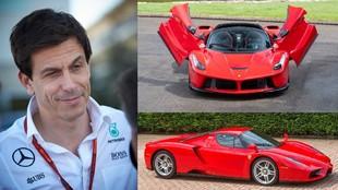 Toto Wolff - Ferrari - Mercedes - F1 - Ferrari Enzo - Ferrari...
