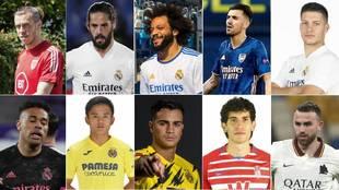 Los 10 que sobran en el Madrid