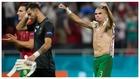 Pepe celebra la victoria sobre Francia y el pase de Portugal a...